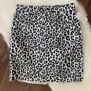H&M &Denim Mini Skirt